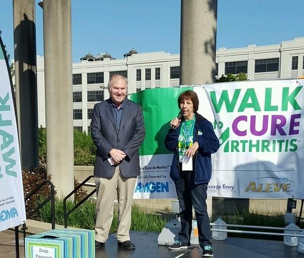 Congressman Steve Chabot Walk to Cure Arthritis