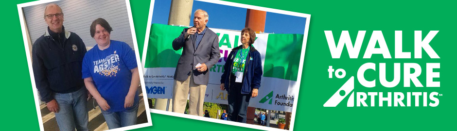 Congress Members at Walk to Cure Arthritis