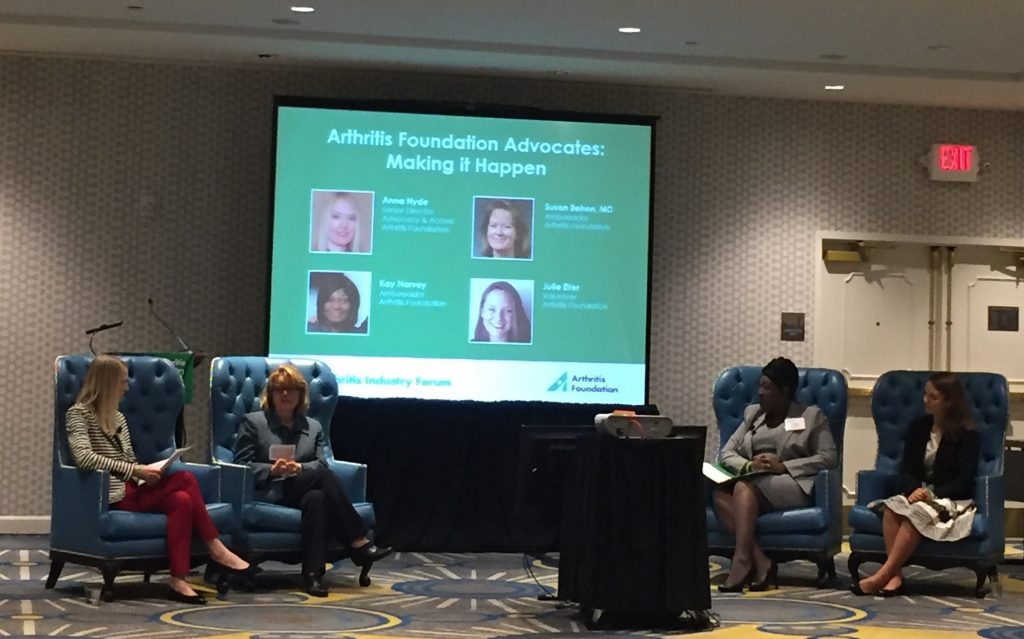 Arthritis Industry Forum Advocates