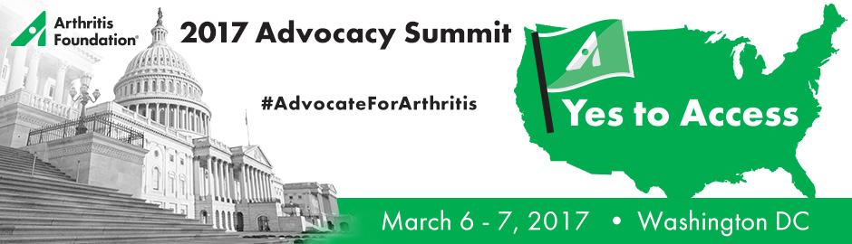 2017 Arthritis Foundation Advocacy Summit