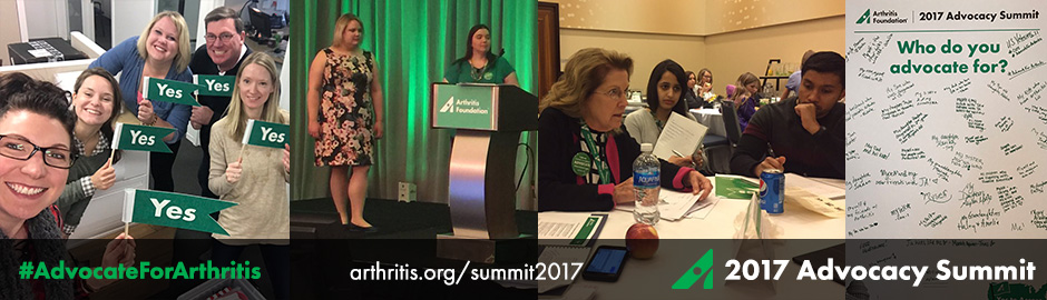 2017 Arthritis Foundation Advocacy Summit Day 1