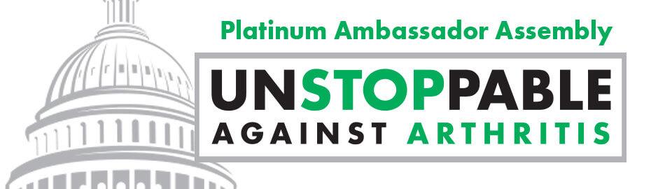 arthritis foundation platinum ambassador assembly
