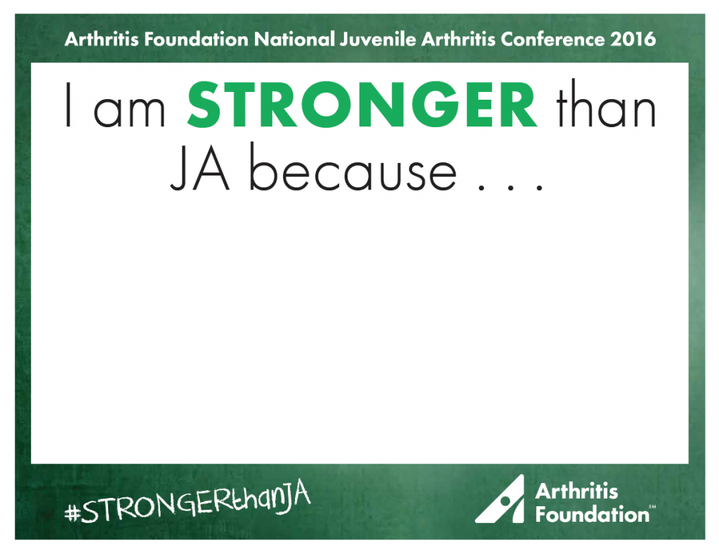 Stronger Than Juvenile Arthritis