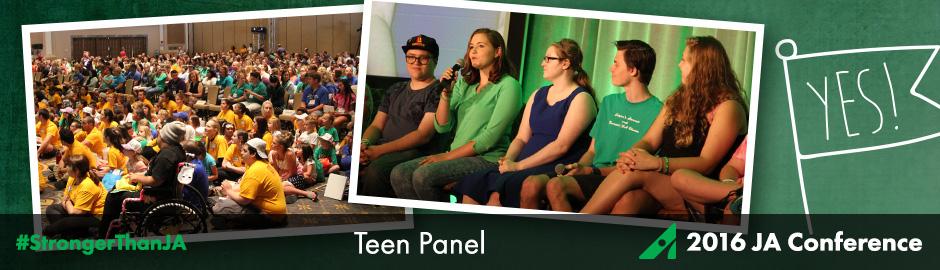 Juvenile Arthritis Conference Teen Panel