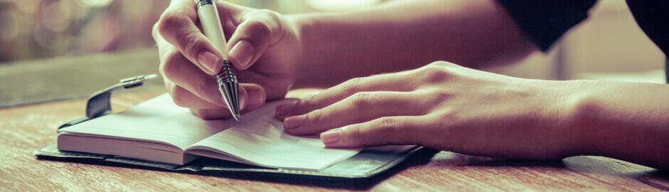 expressive writing to relieve arthritis stress