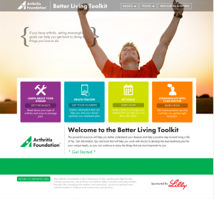 Arthritis Foundation Goal Setting Better Living Toolkit