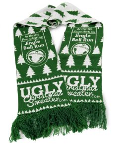 Jingle Bell Run Team Captain Scarf