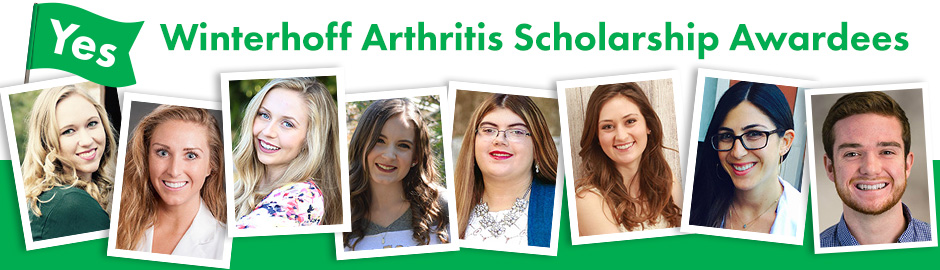 Winterhoff Scholarship Awardees