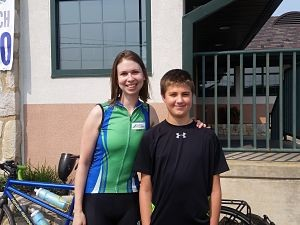 Jen & James- bike ride for arthritis