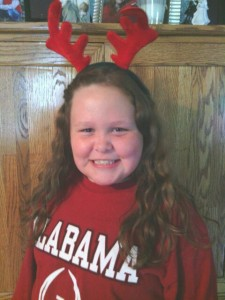 Graci Jingle Bell Run Youth Honoree