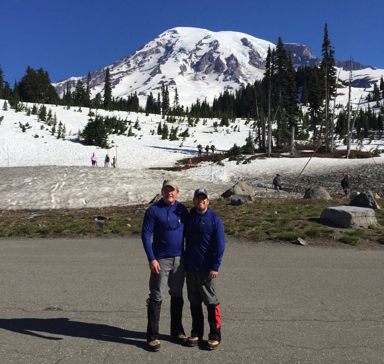 David Fortanbary Mt. Ranier Climb for Arthritis