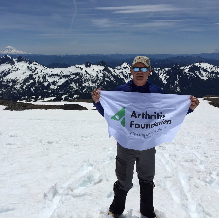 David Fortanbary Climb for Arthritis