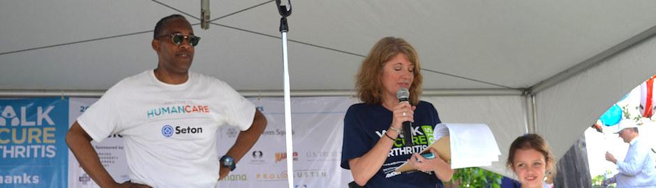 Cathy McHorse Walk to Cure Arthritis Austin