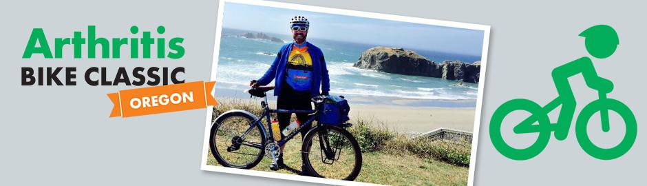 Dave Hale Oregon Bike Classic Arthritis Foundation