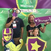 Huss Family at Juvenile Arthritis Conference