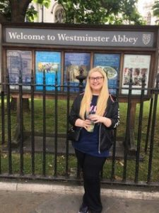 alayna at Westminster