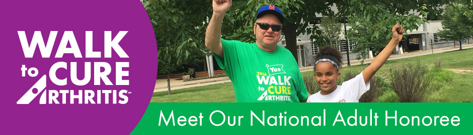 Meet Our National Walk to Cure Arthritis Adult Honoree: Former MLB Pitcher Tom Walker!