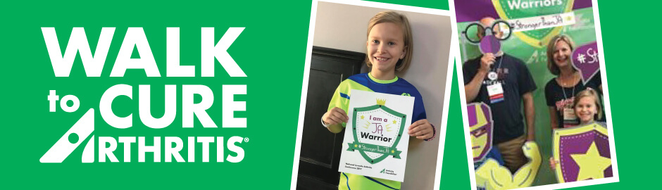 Spotlight on Kenley Huss: Walk to Cure Arthritis National Youth Honoree