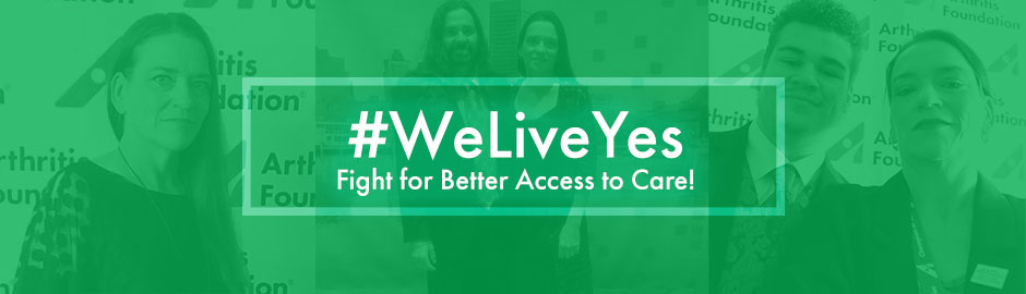 #LiveYes & Fight for Better Access to Care