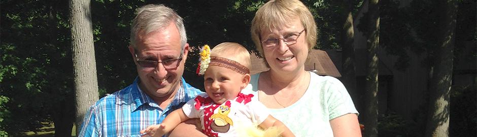 Hands On: Massage Helps Keep Laurie Active with her Grandchildren