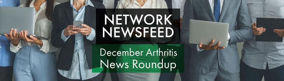 December 2020 Arthritis News Roundup