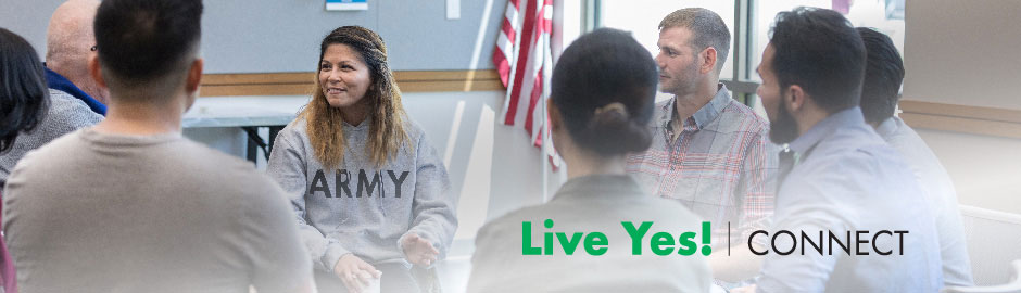 New: Virtual Veterans Live Yes! Connect Group