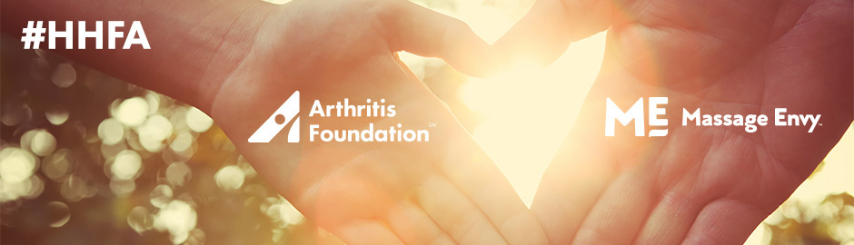 Arthritis Foundation and Massage Envy: Holding Hands, Healing Together