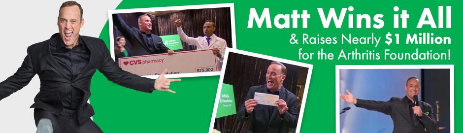 Victory: Matt Iseman is The New Celebrity Apprentice & Brings Home Nearly $1 Million for the Arthritis Foundation!