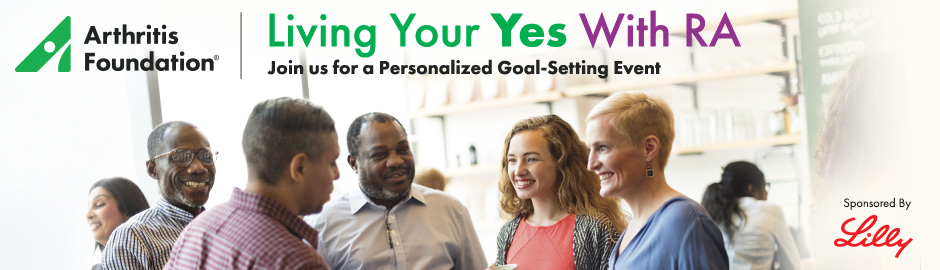 Coming this Fall – Living Your Yes With RA, A Personalized Goal-Setting Event