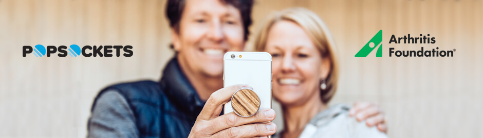 Getting a Head Start on Arthritis Awareness Month: PopSockets Is Helping Move the Needle