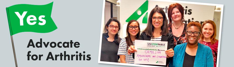Show Us How YOU #AdvocateforArthritis