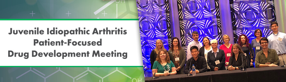 juvenile idiopathic research patient-focused meeting