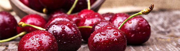 how many cherries for pain relief