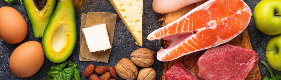 A spread of fish, cheese and healthy nuts