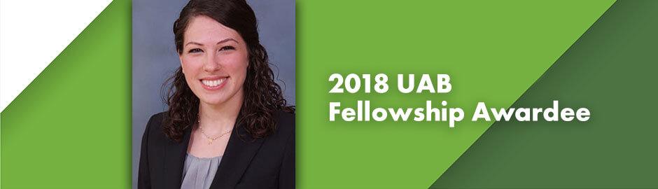 2018 fellow recipient Margaret Guthrie