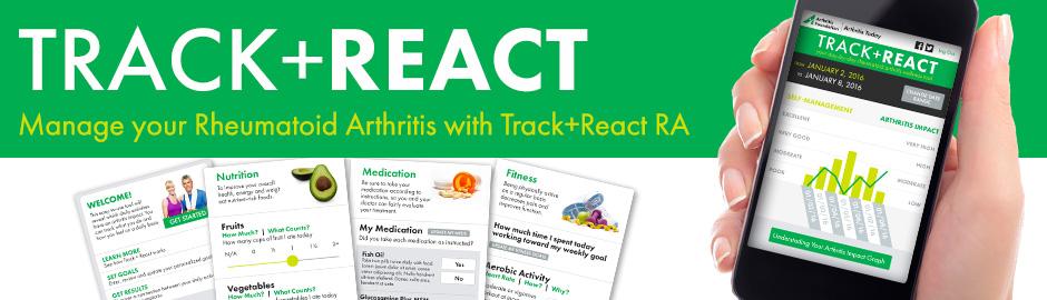 Track React Rheumatoid Arthritis Tracking Tool